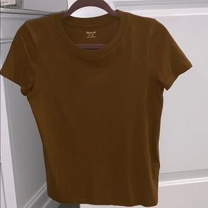 Madewell brown tee